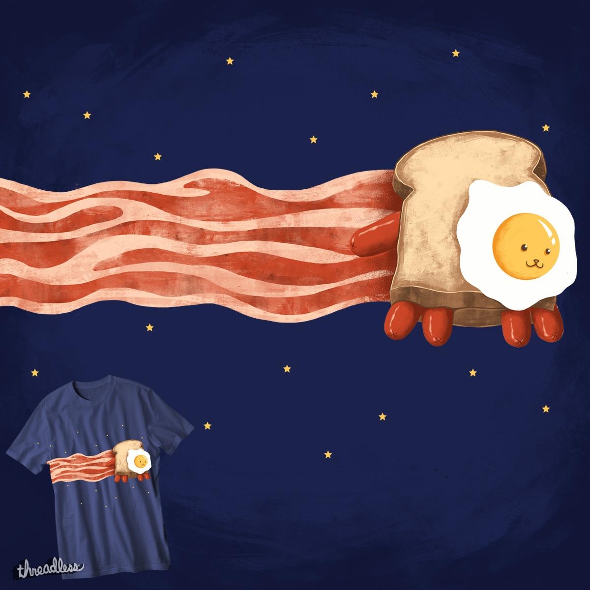 nyan bacon by zakiihamdanii on Threadless