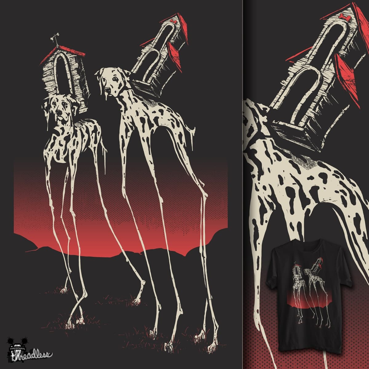Dalímatians by campkatie on Threadless
