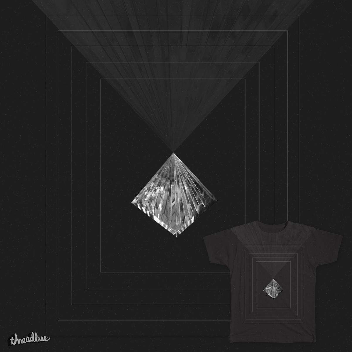 Crystal Pyramid by MRFA on Threadless