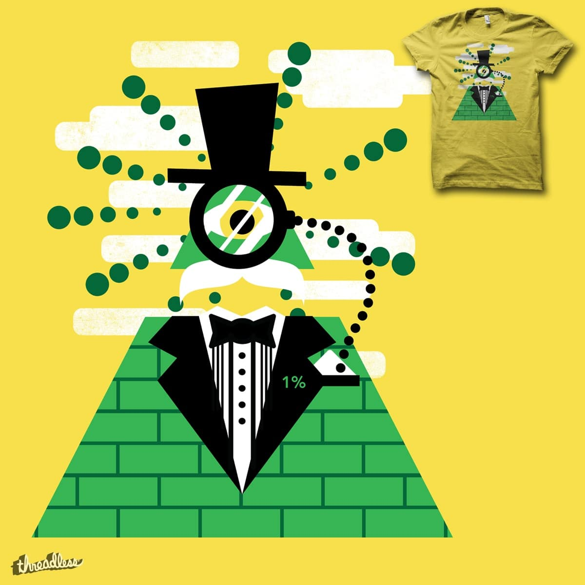 Masonic Monocle by biotwist on Threadless