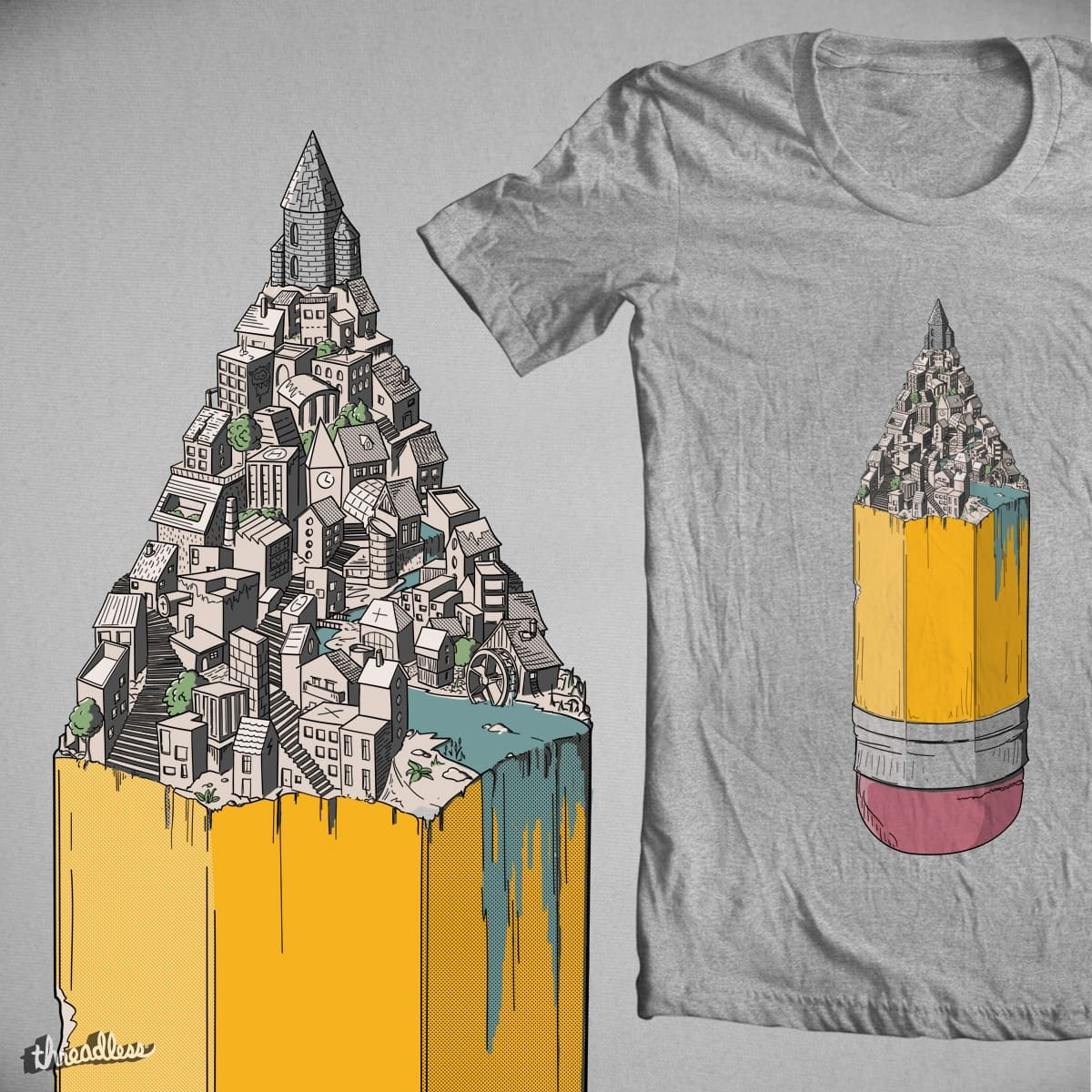 Creaticity by sausage_moe on Threadless
