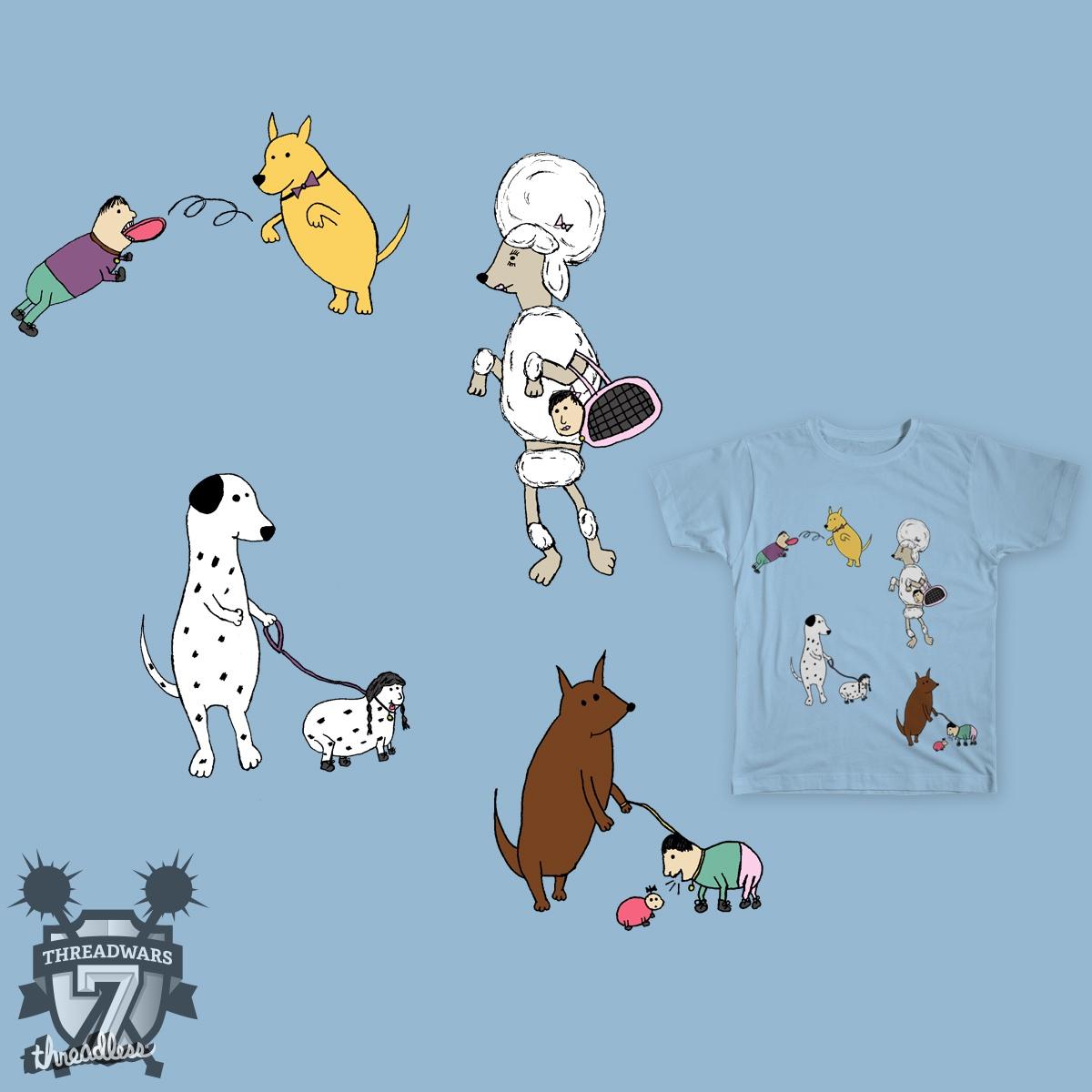 It's A Dog's World! by Christina.A.art on Threadless