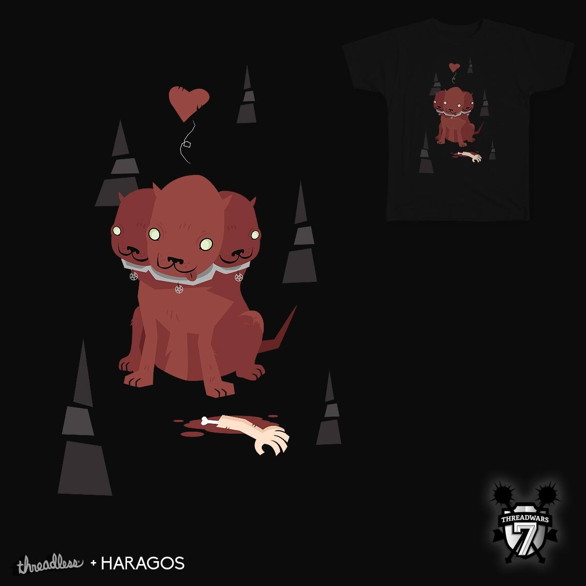Fetching...! by Haragos on Threadless
