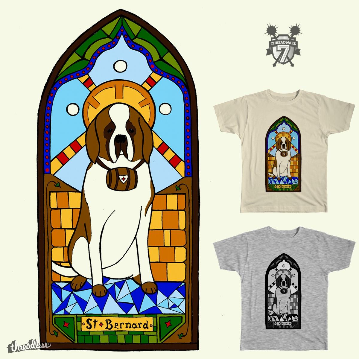 St. Bernard by AnthonyMoore on Threadless