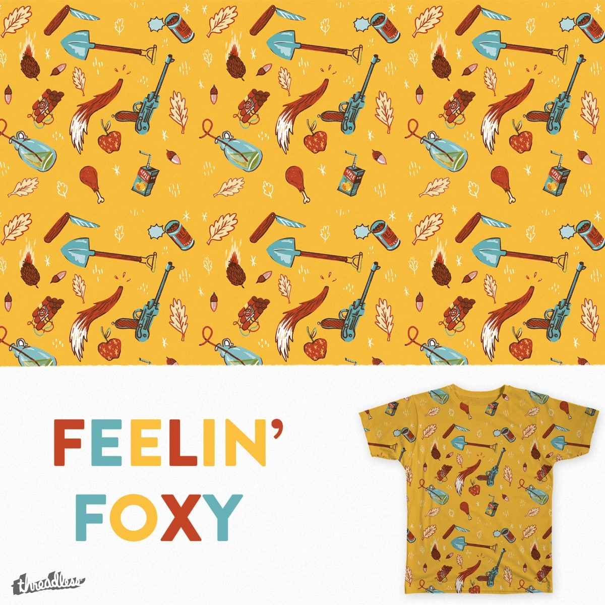 Feelin' Foxy by Anloma on Threadless