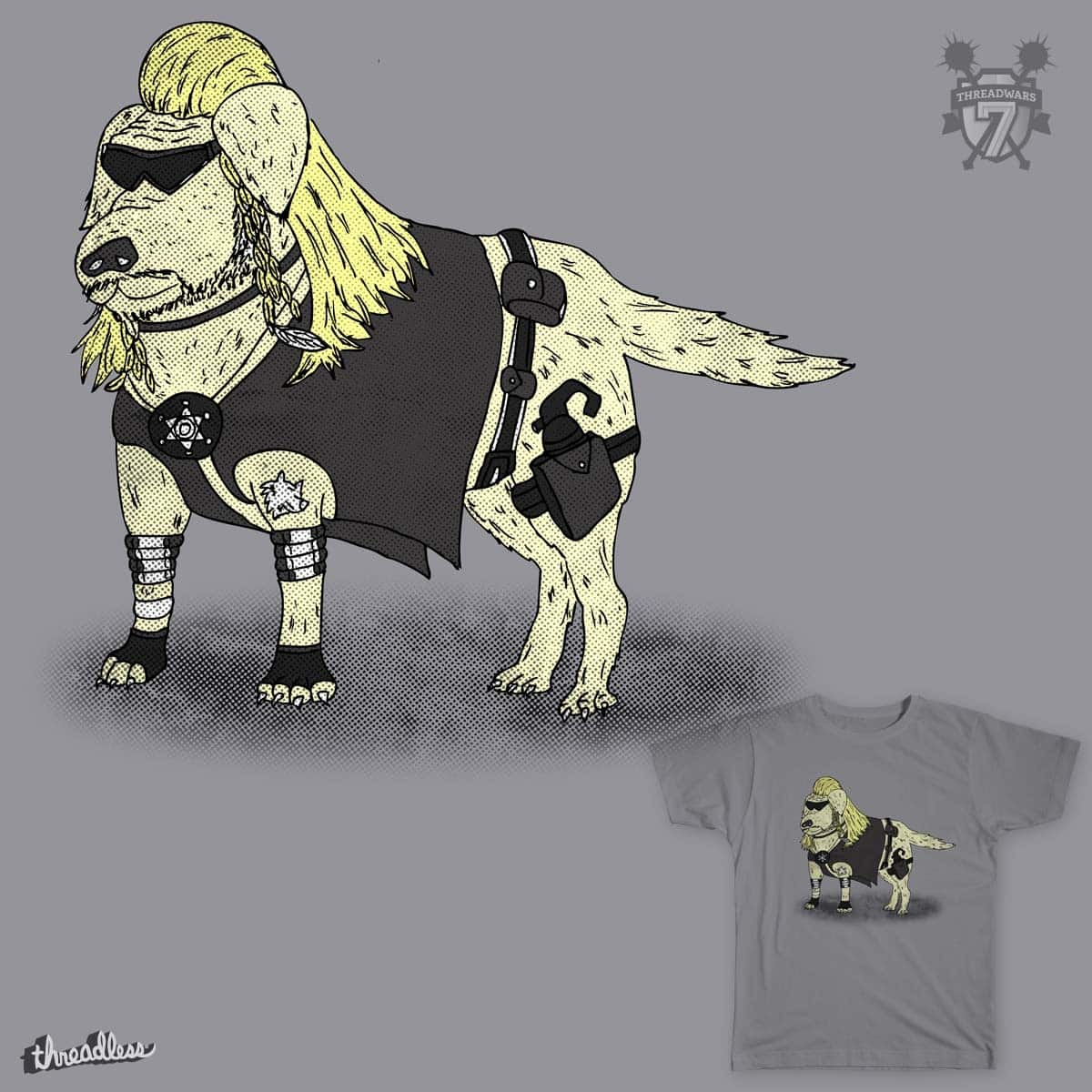 Doggy the Bounty Hunter by ChrisDB on Threadless