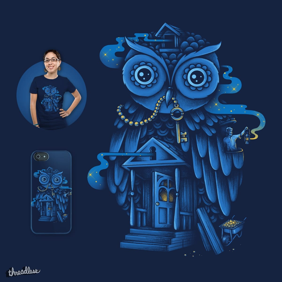 Guardian of the Night by buko on Threadless