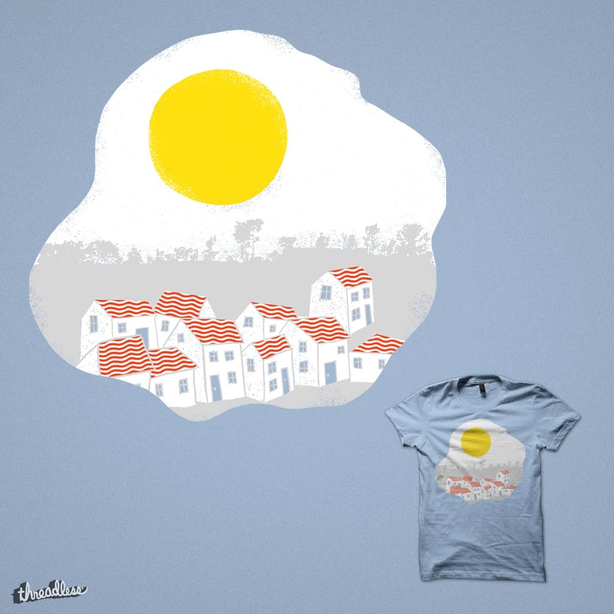 Breakfast Day by eikwox on Threadless