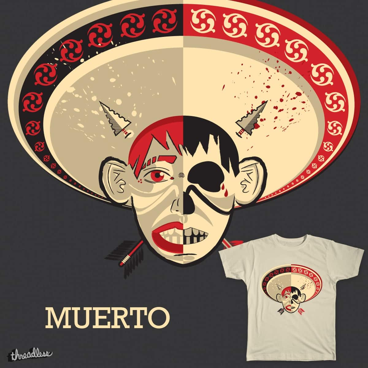 Muerto by DonCarlos on Threadless