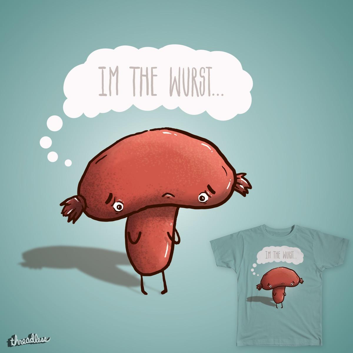 The Wurst Shirt by EJCrews on Threadless
