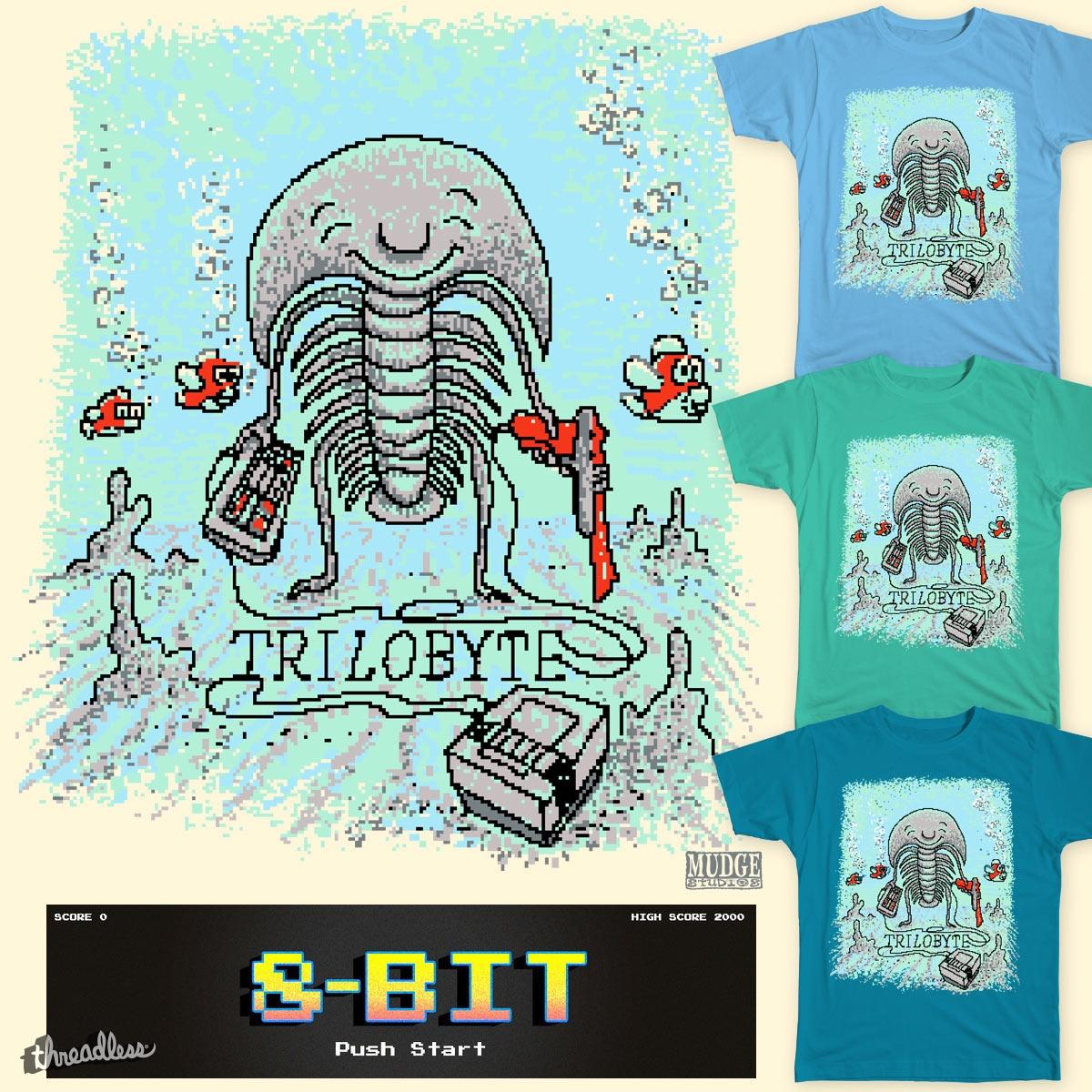 TriloBYTE by MudgeStudios on Threadless
