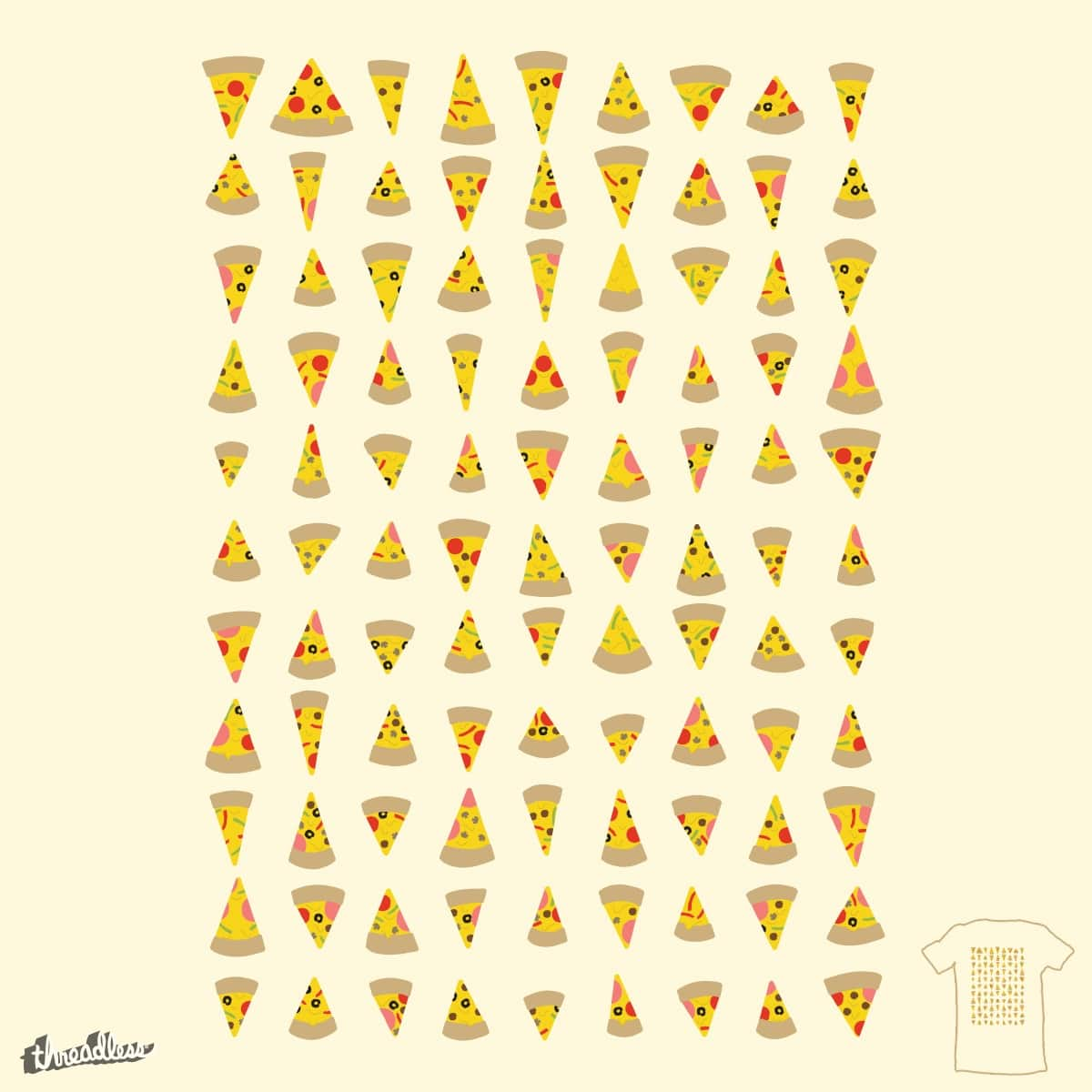 99 Slices of Za on the Wall by 5eth on Threadless