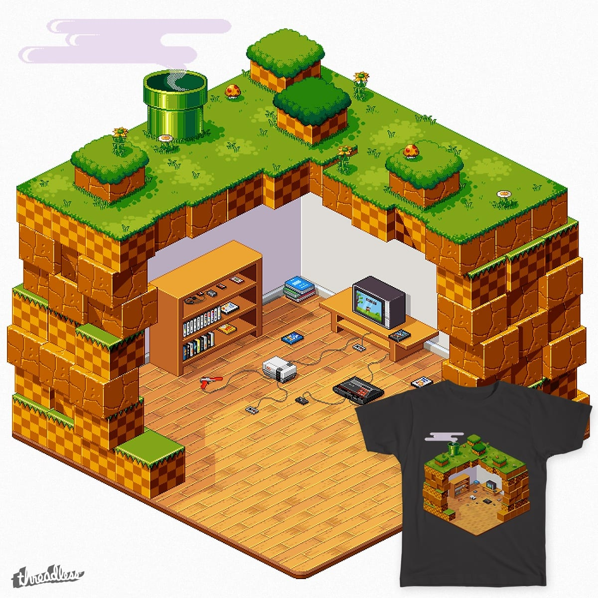 A New Old World on Threadless