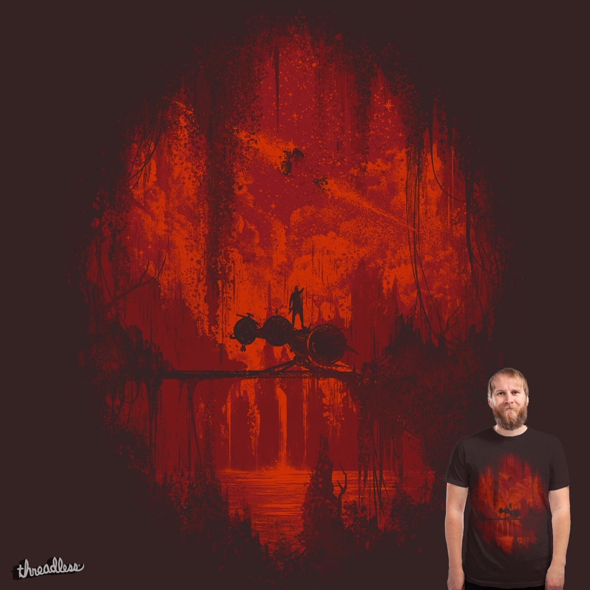 The Oblivion Remains by robsonborges on Threadless