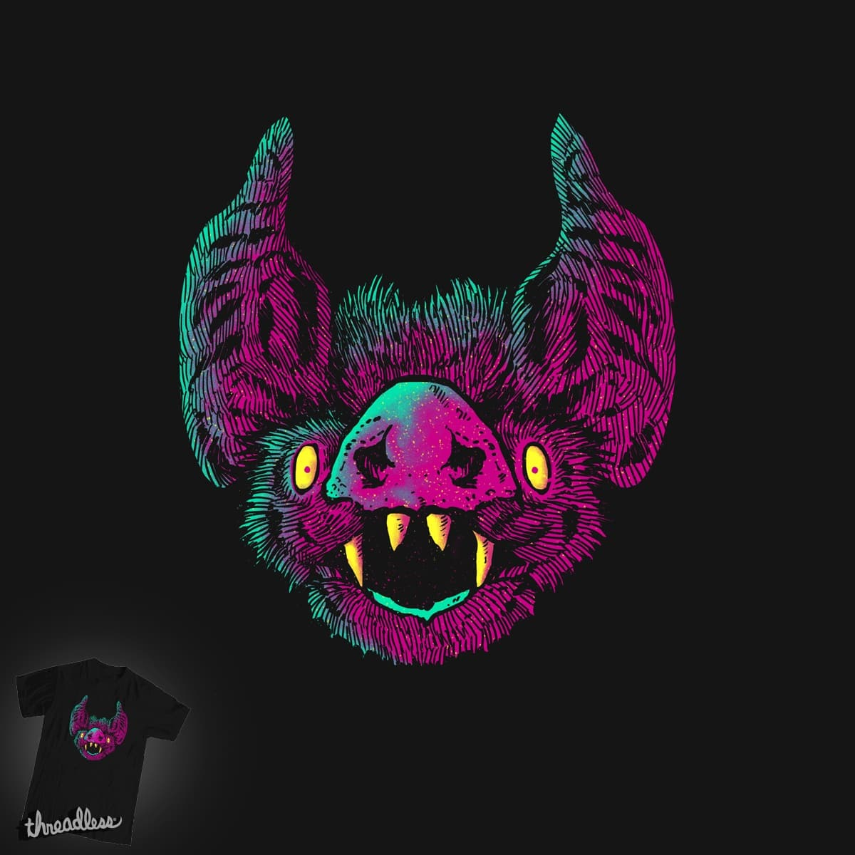Obvious bat by barmalisiRTB on Threadless