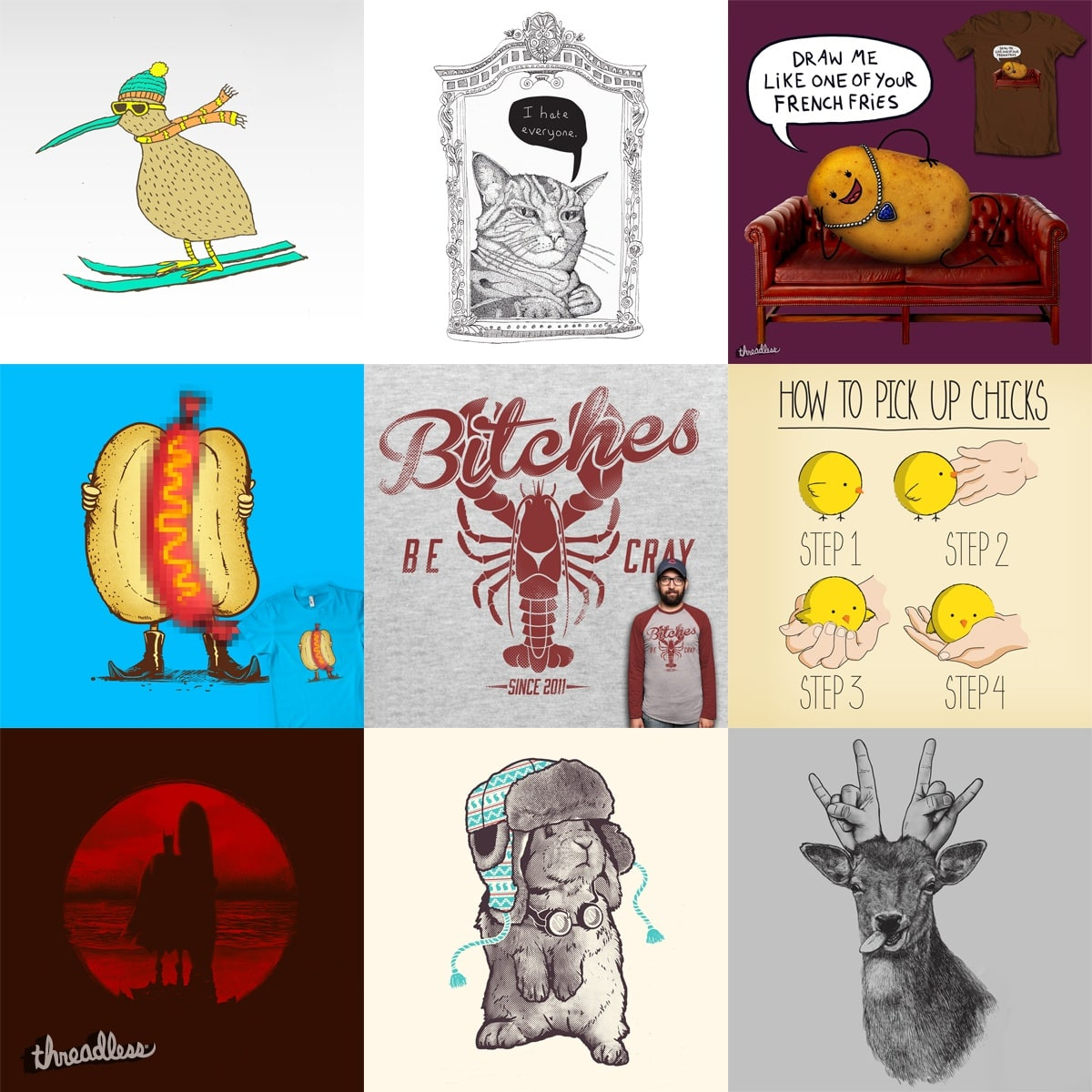 Staff Collection #2 by StaffCollections on Threadless