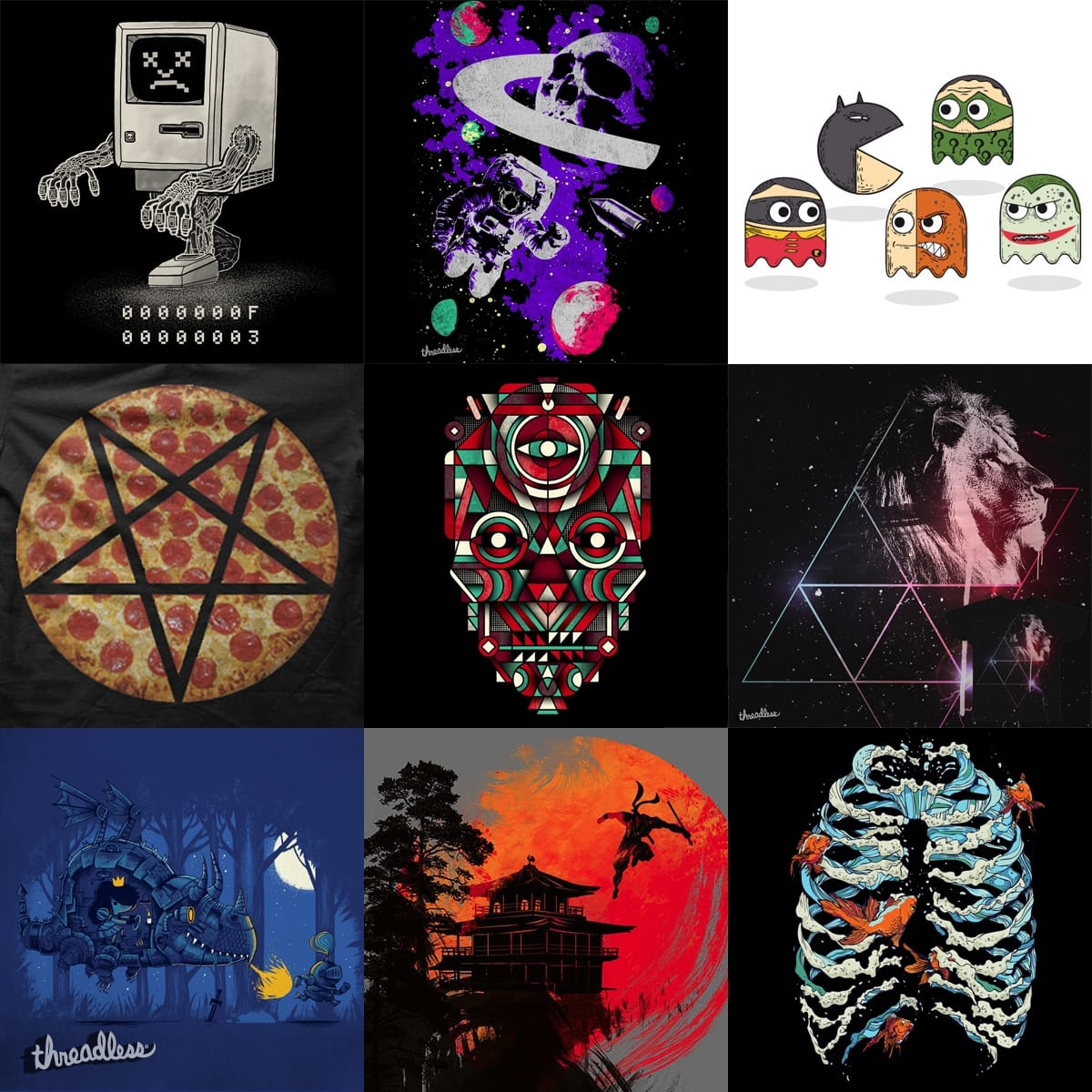 Staff Collection #4 by StaffCollections on Threadless