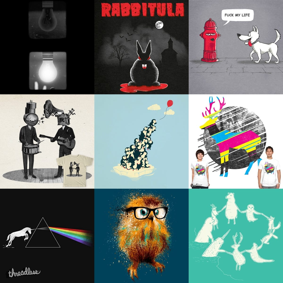 Staff Collection #7 by StaffCollections on Threadless