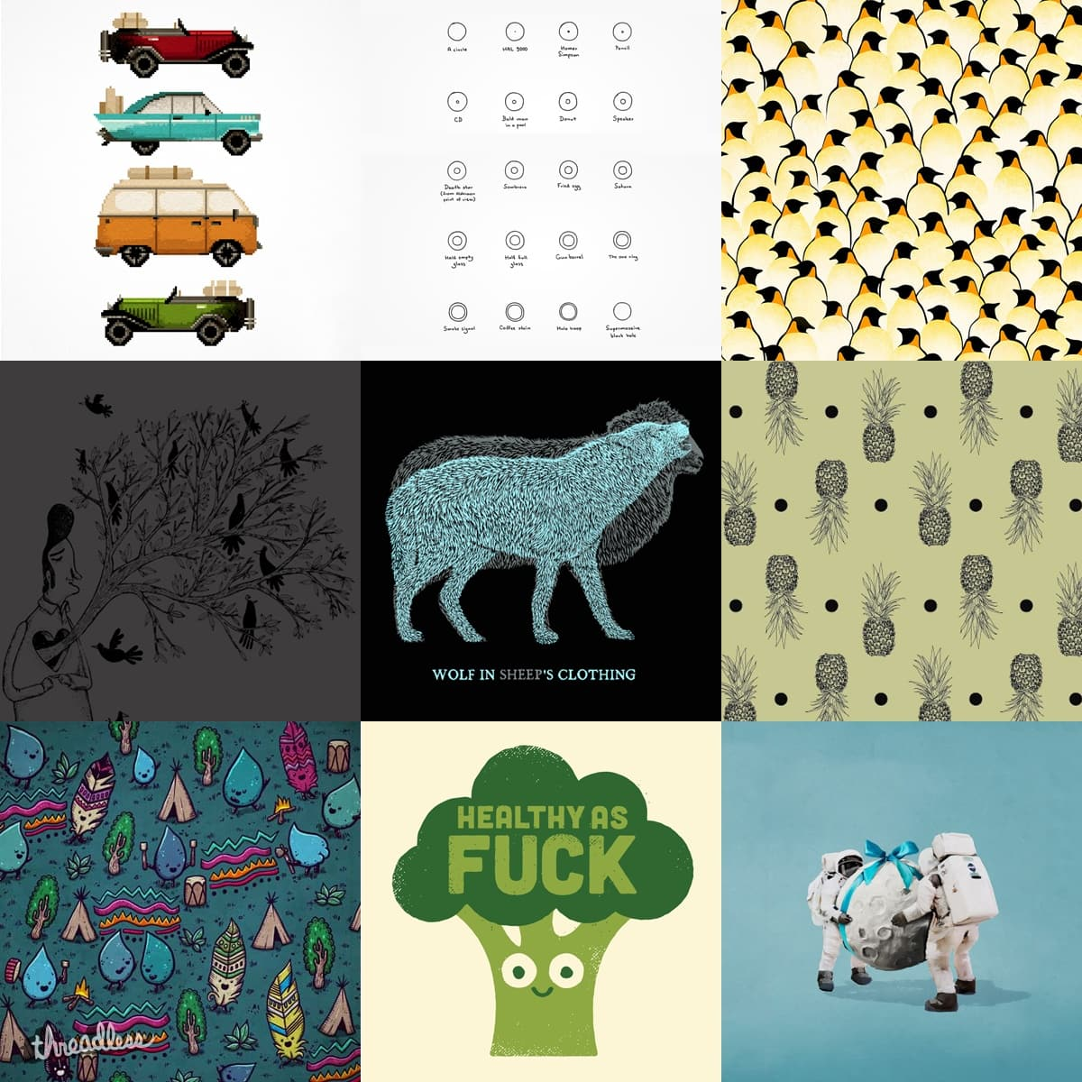 Staff Collection #8 by StaffCollections on Threadless