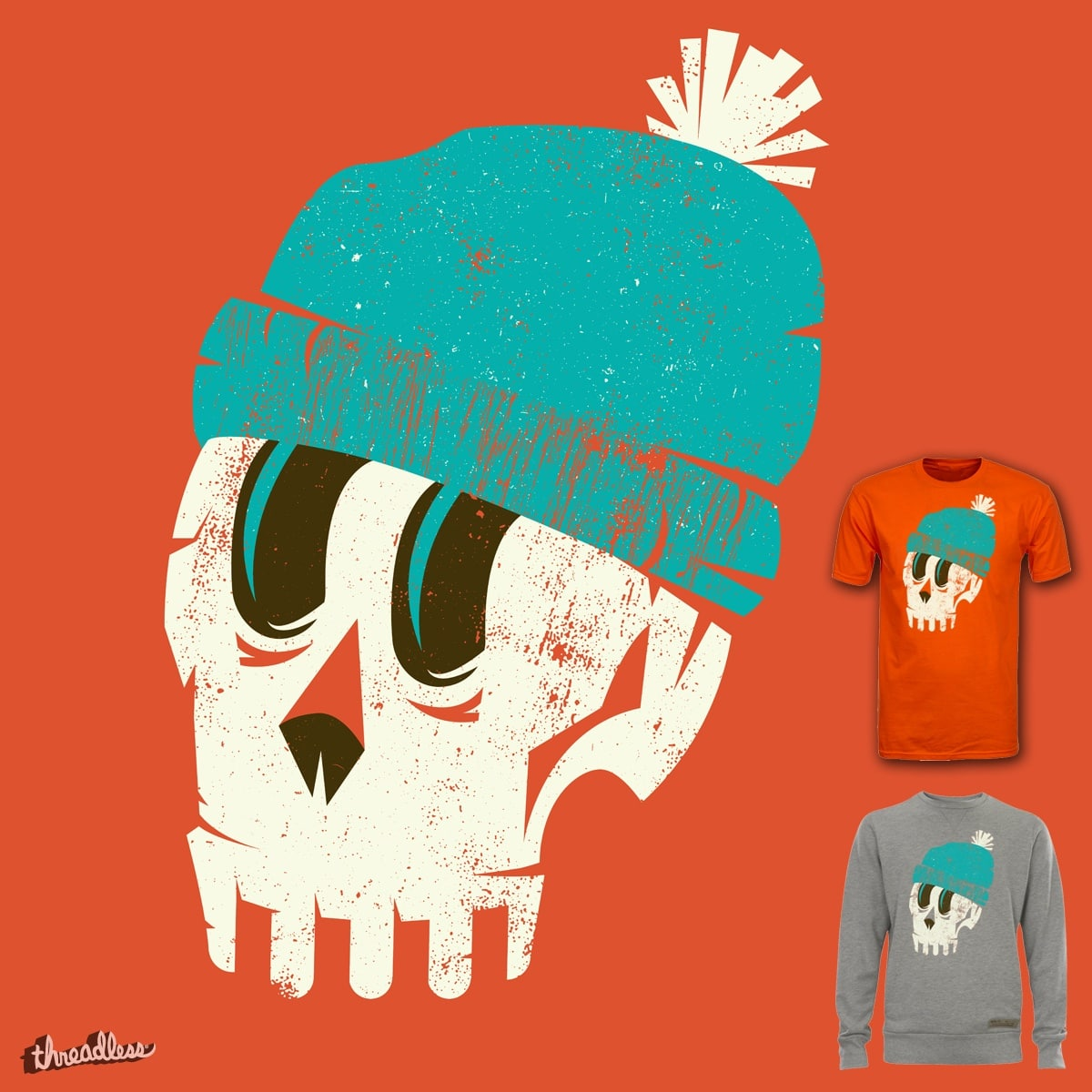 Skully by campkatie on Threadless