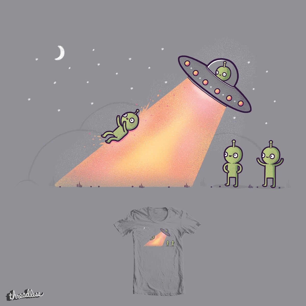 A break from abduction by randyotter3000 on Threadless