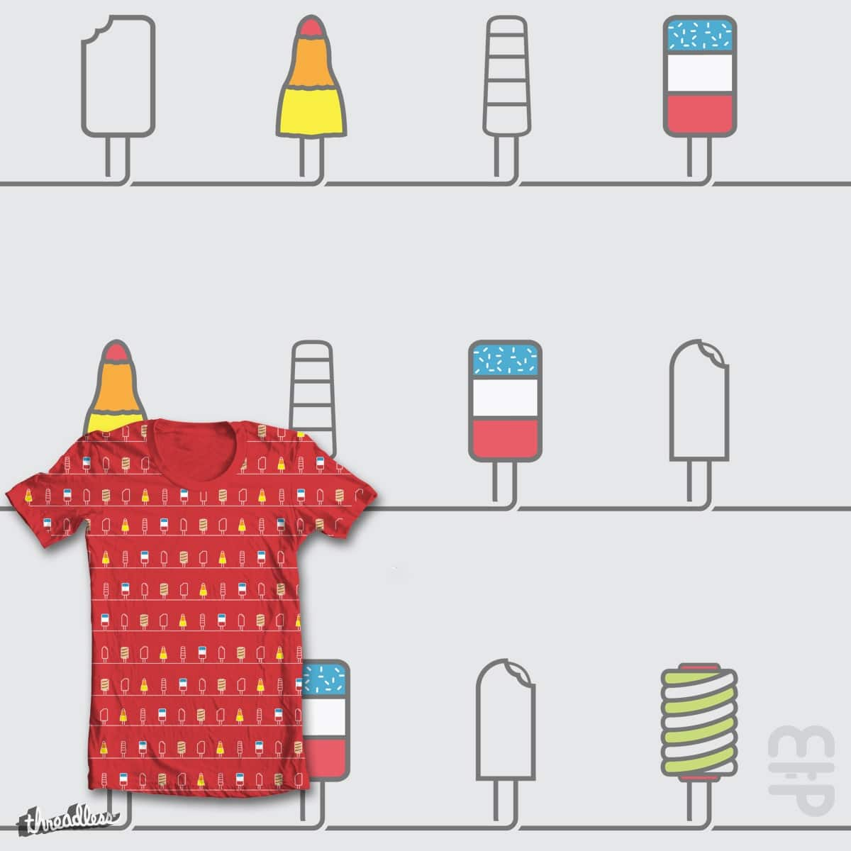 I can be your ice cream by mip1980 on Threadless