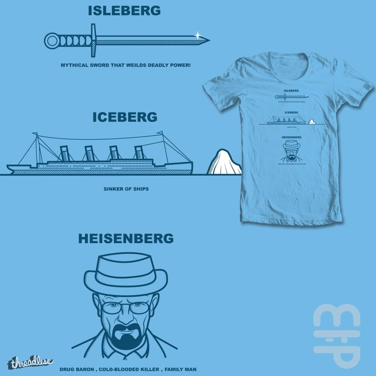 Bergs can be bad for your health by mip1980 on Threadless
