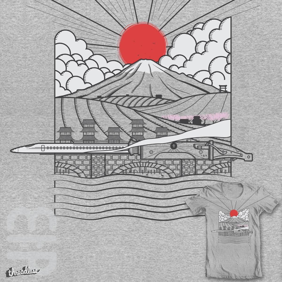 Bullet Train by mip1980 on Threadless