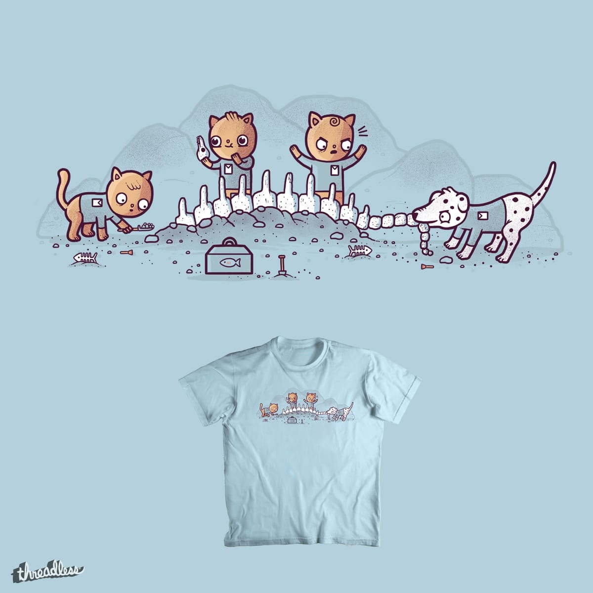 Archaeologicat by randyotter3000 on Threadless