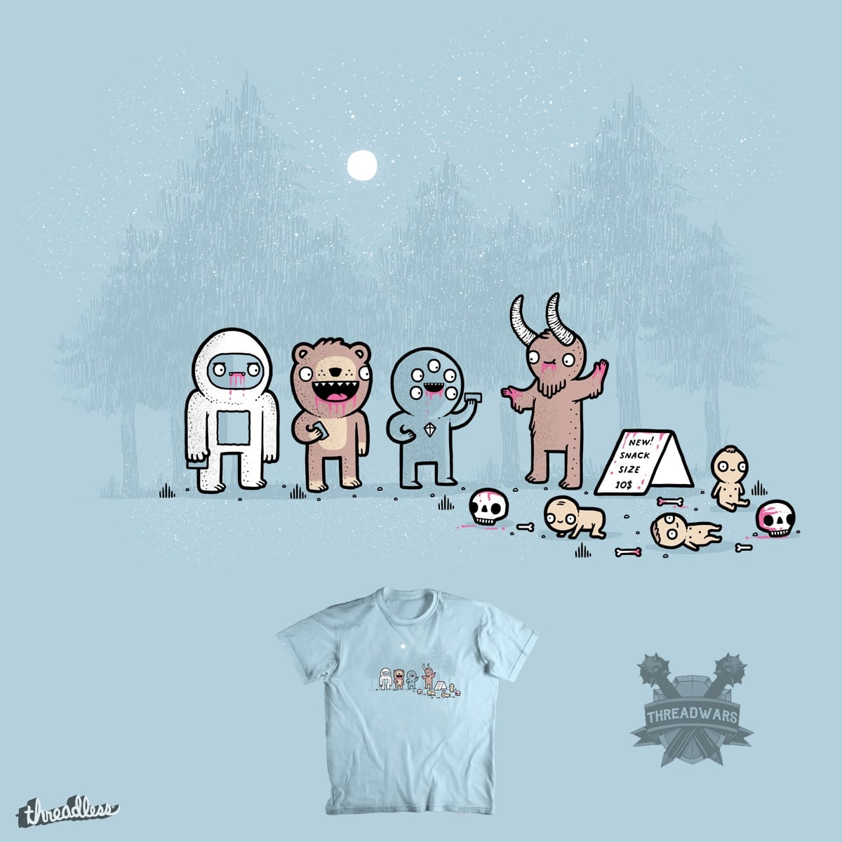 Snack size by randyotter3000 on Threadless
