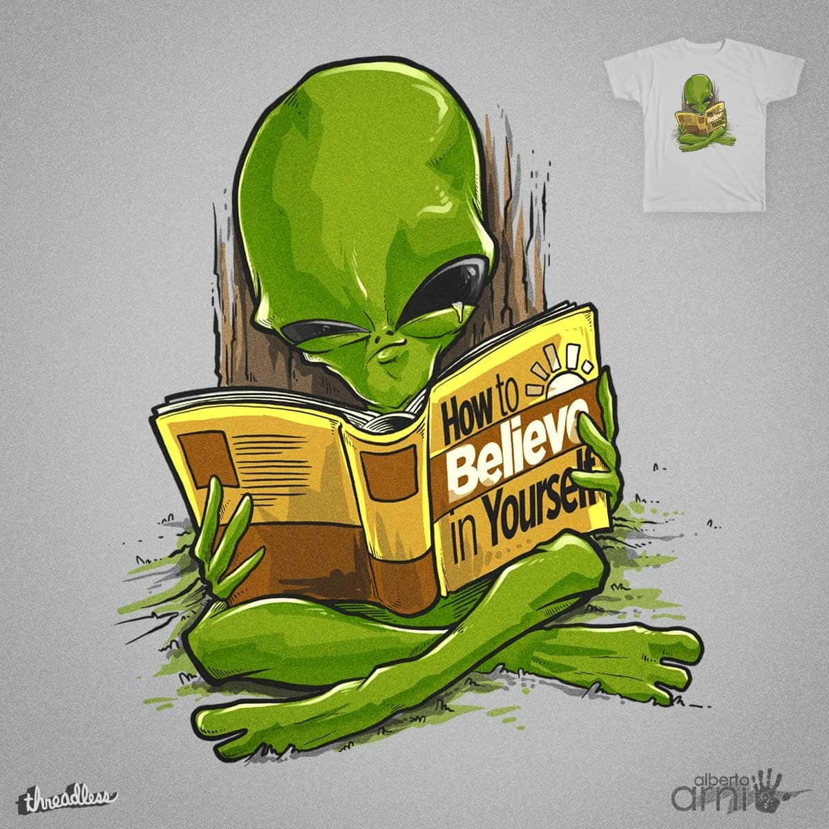 How to Believe in Yourself by albertoarni on Threadless