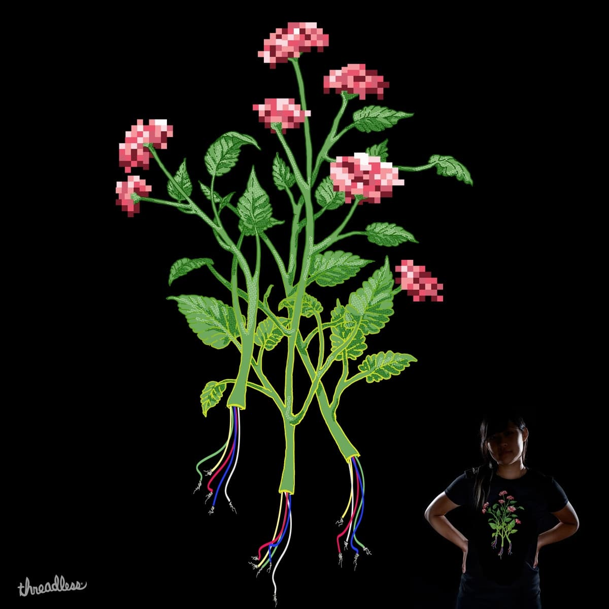 E-Bouquet by Rachel Ray Gun on Threadless