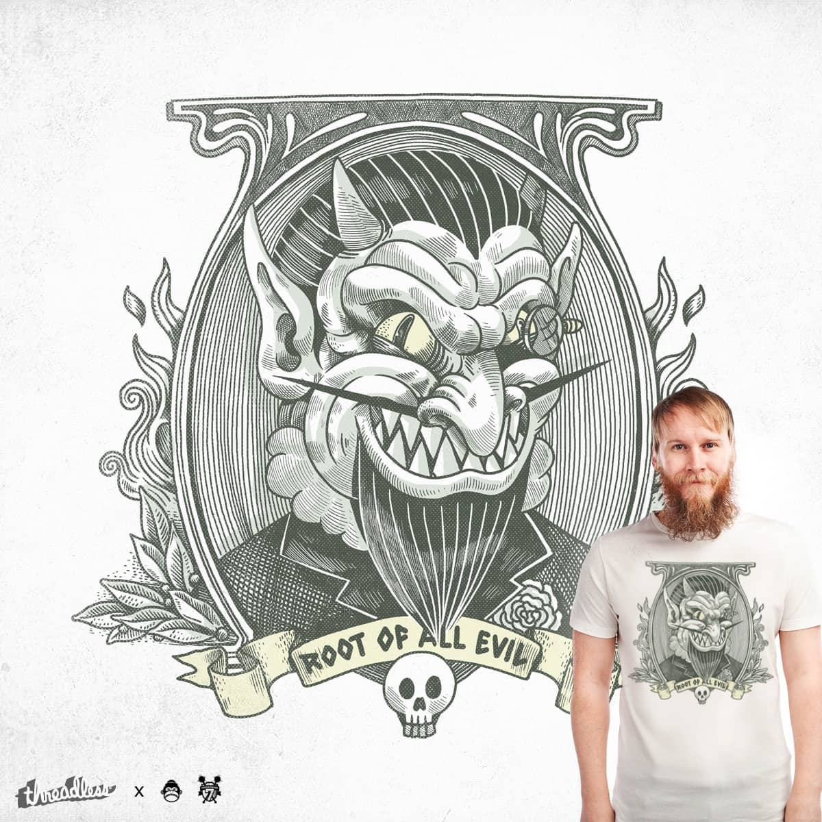 Root of All Evil by alexmdc on Threadless