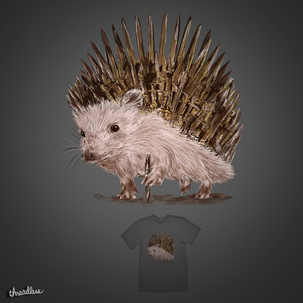 Throne of Thorns by kooky love on Threadless