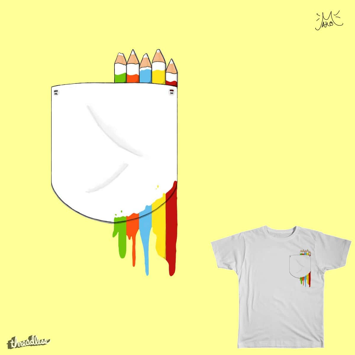 Wasted Colors by ssjaundre on Threadless