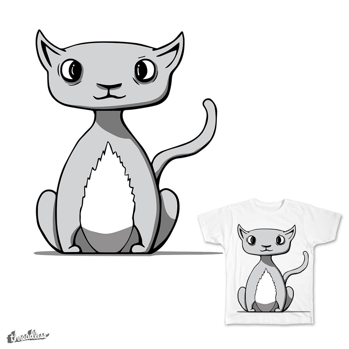 Cat by Benderonny on Threadless