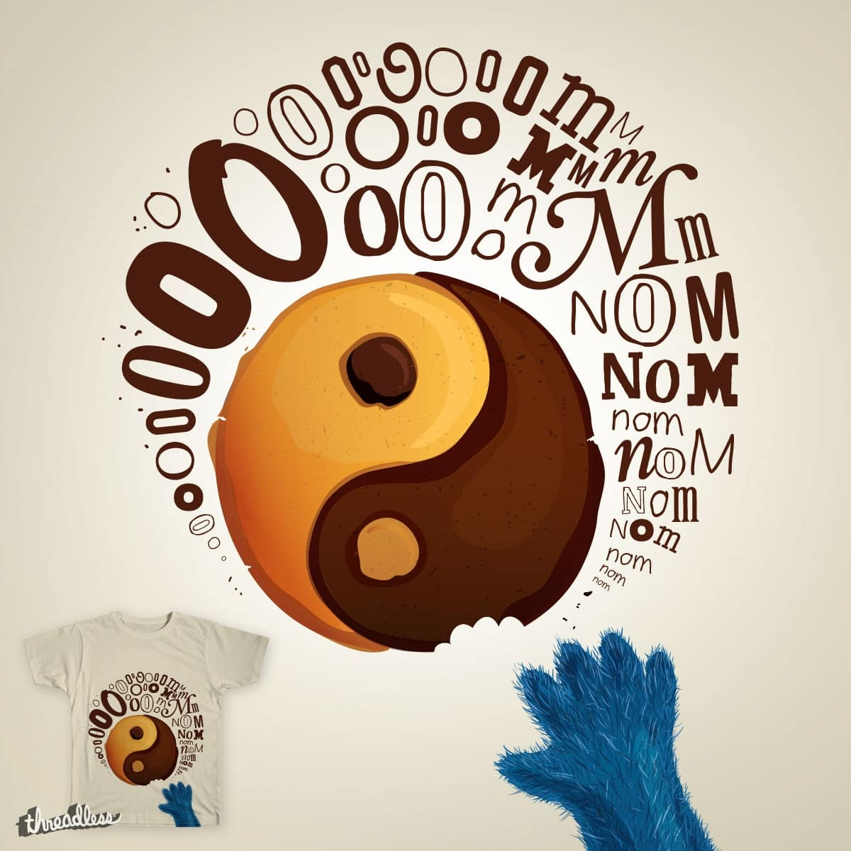 Ooooooooooom nom nom nom  by viktoriaaa1 on Threadless