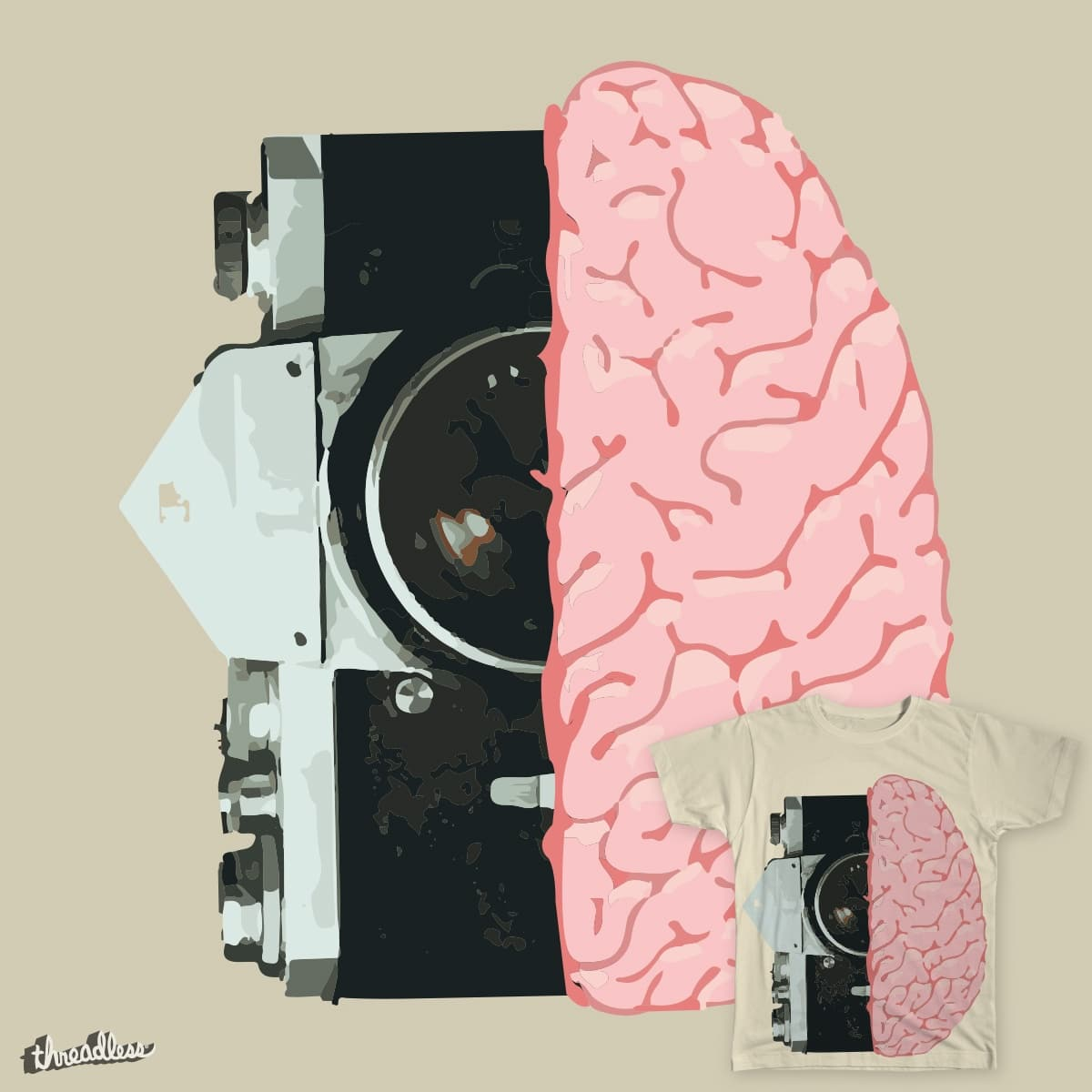 Camera Brain by SomthingBorealis on Threadless