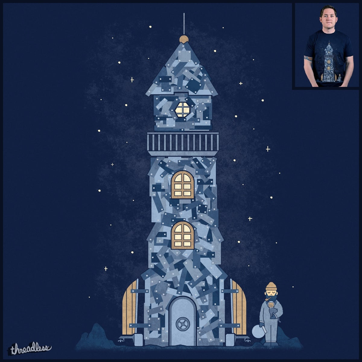 There Must Be More Than The Sea by TeoZ on Threadless
