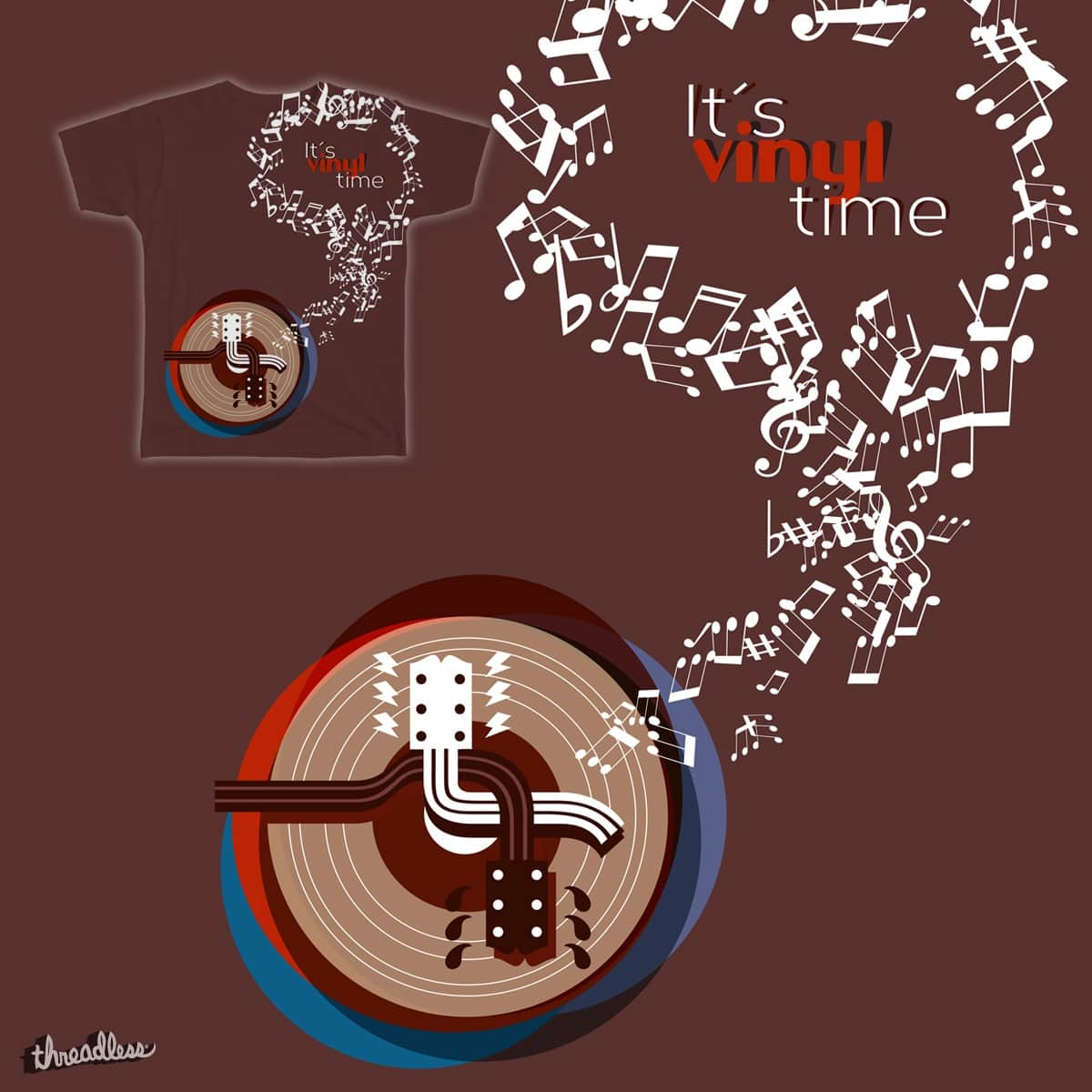 It´s vinyl time by xavidiazg on Threadless