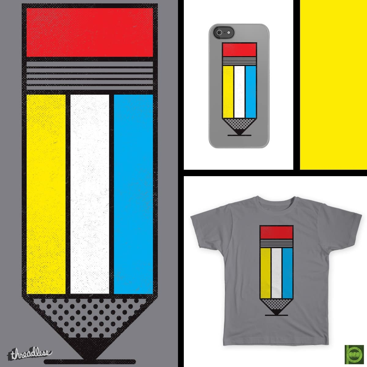 Mondrian #2 by BeanePod on Threadless