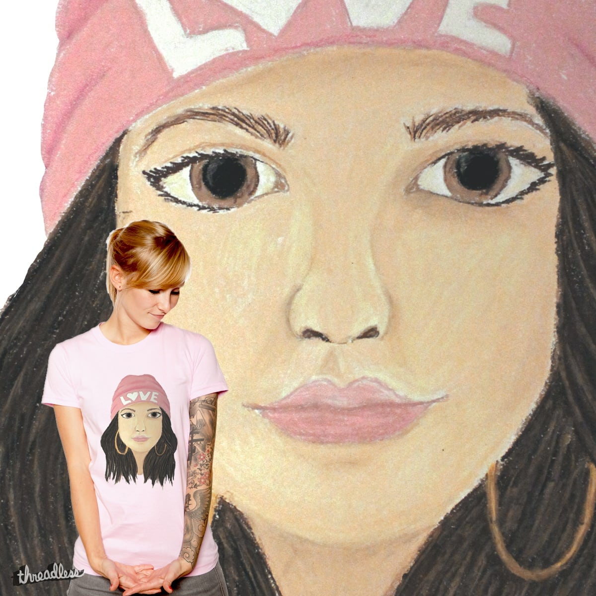 pastel love by babblzzz on Threadless