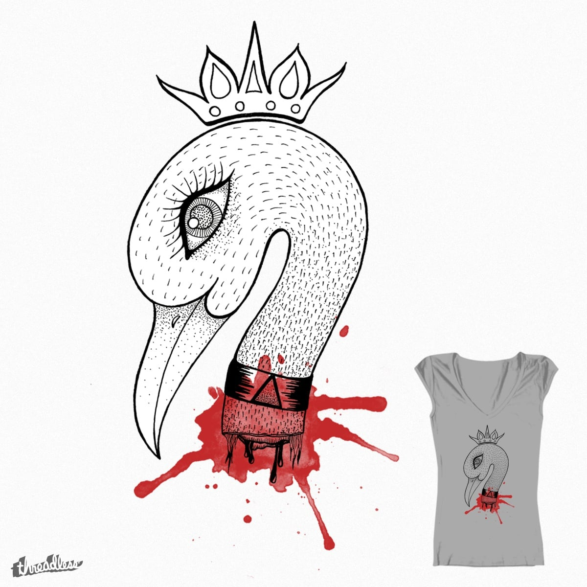 Beauty is Pain by MaulinThohir on Threadless