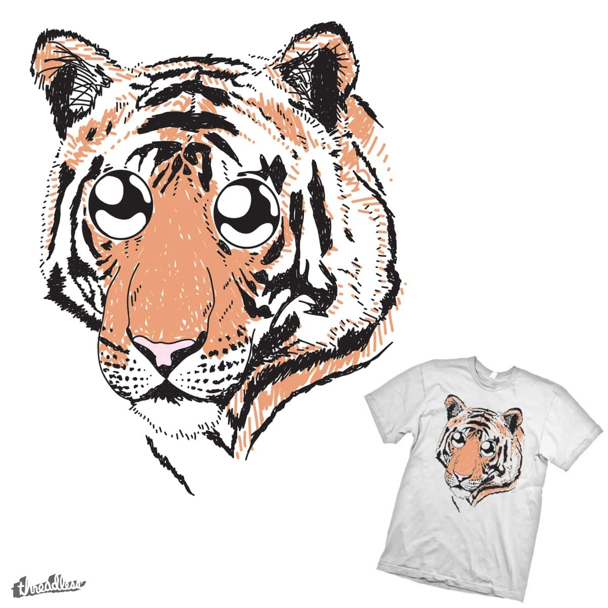 Hungry Eyes by parallelish on Threadless