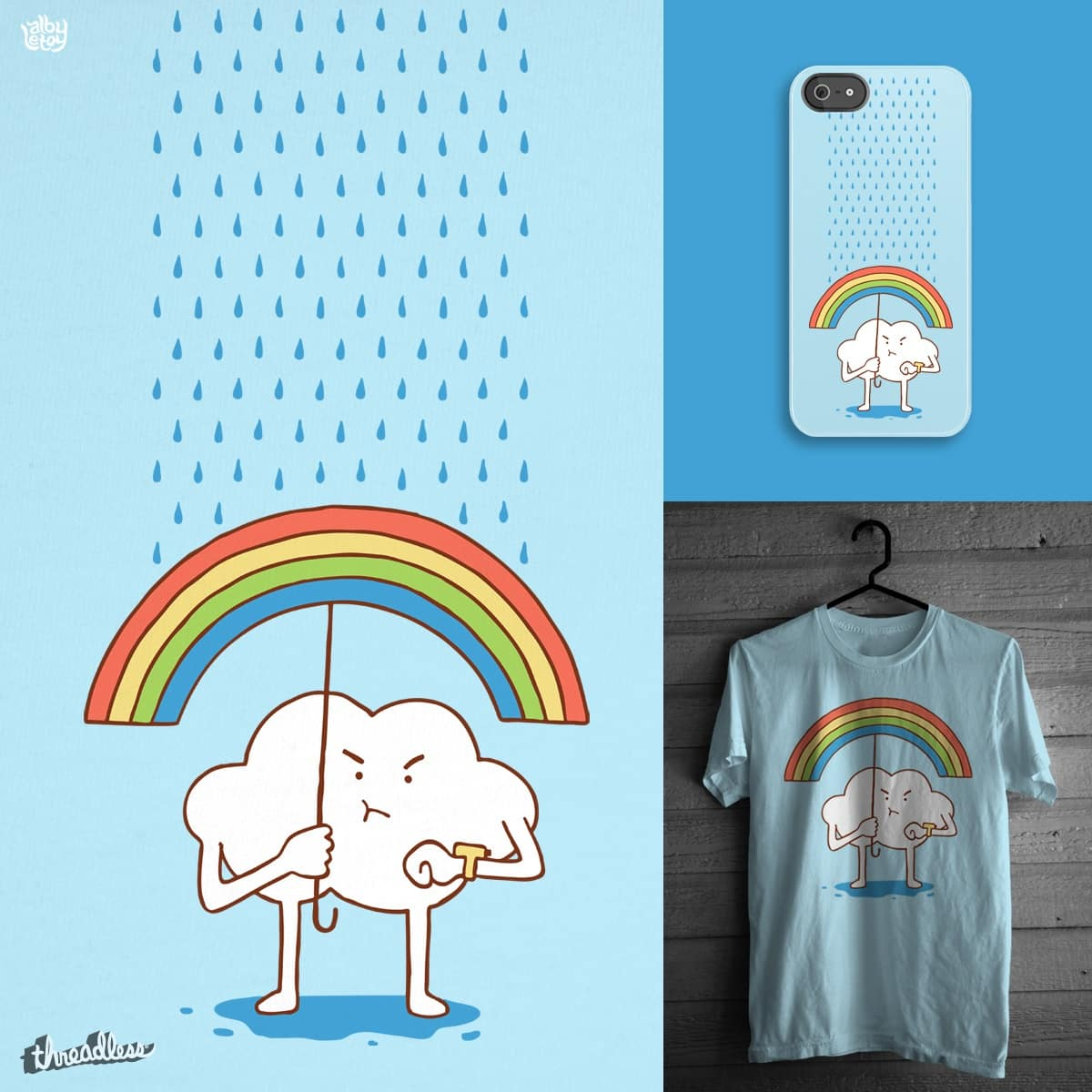 Waiting for the sun by albyletoy on Threadless