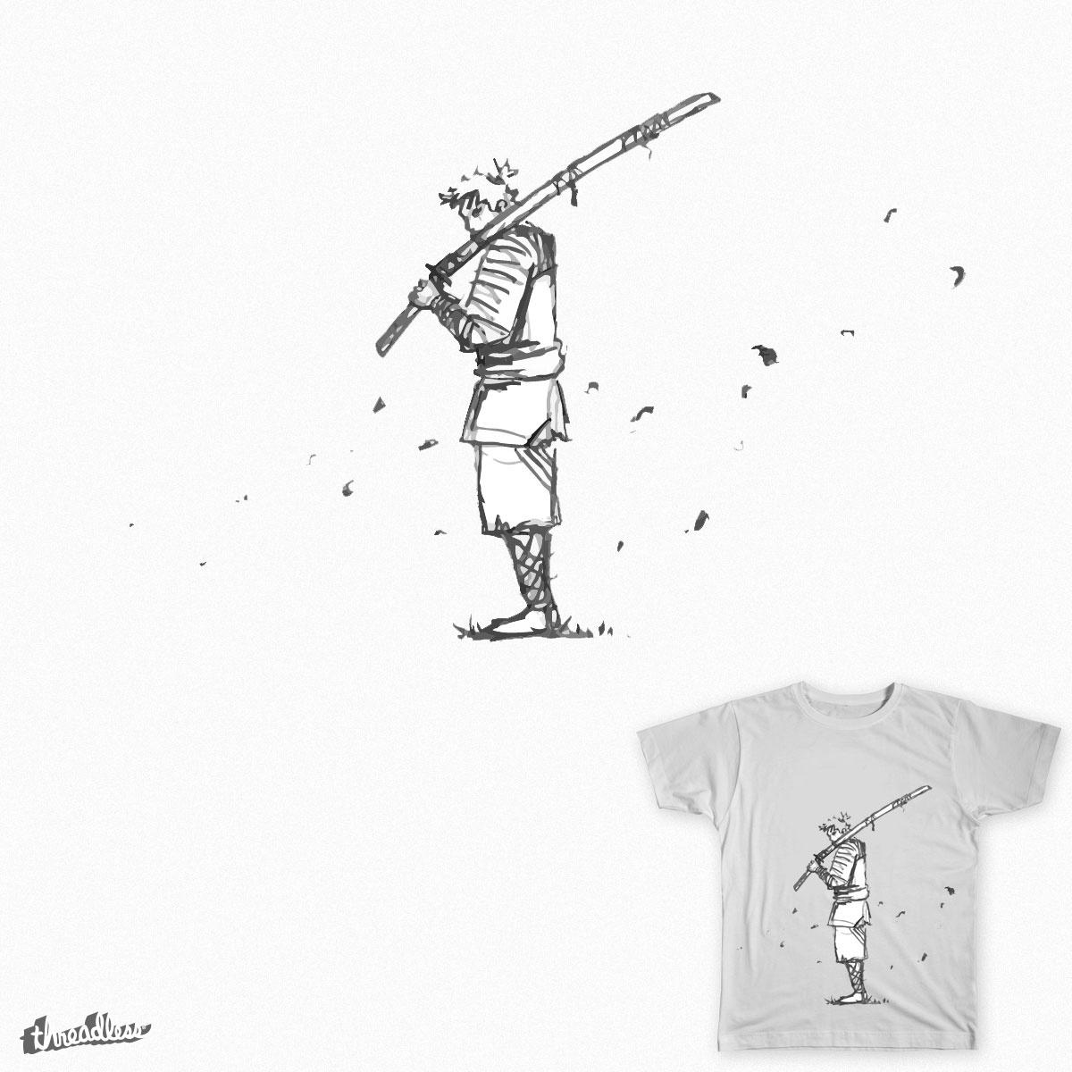 Samurai by rashed_art on Threadless