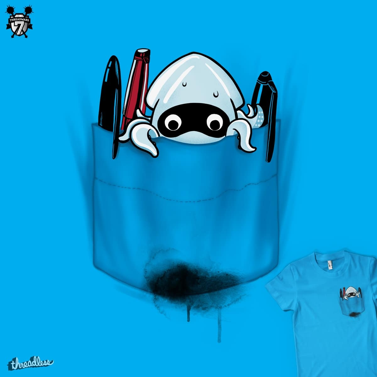 Spilled Memorabilia by MadKobra on Threadless