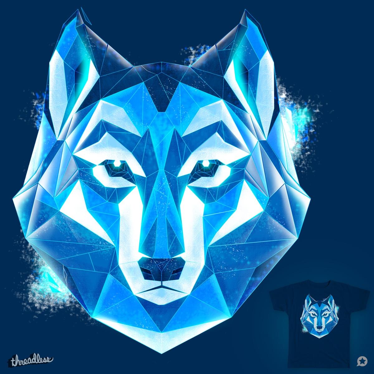 ice wolf by dbolinski on Threadless