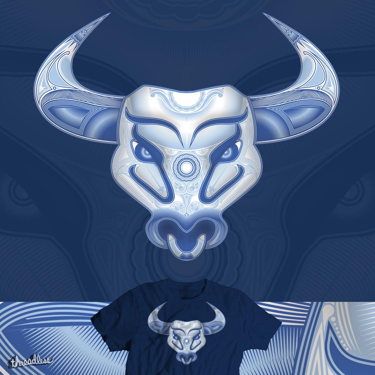 China Bull by Papaprime on Threadless