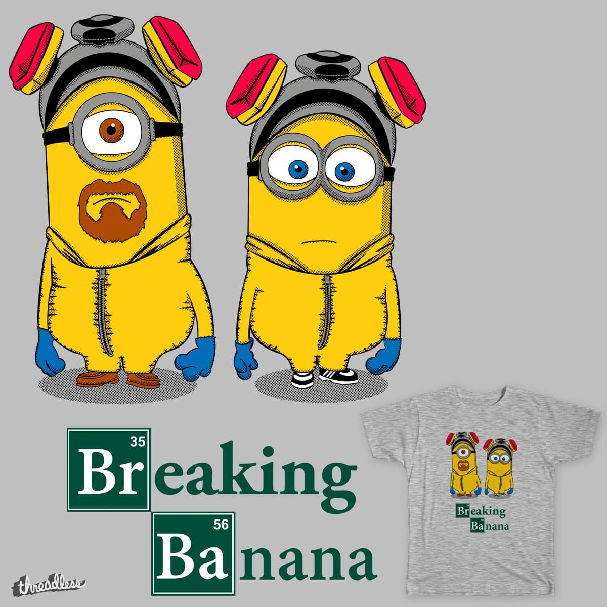 Breaking Banana by Melonseta on Threadless